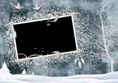 PNG Frame - Christmas mood