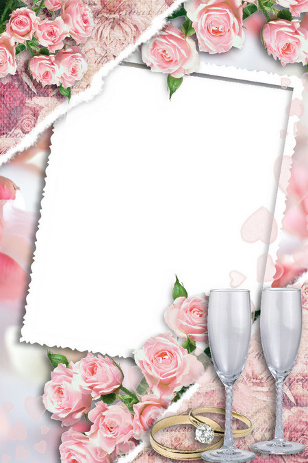 Новым годом, шаблоны на открытки с днем свадьбы