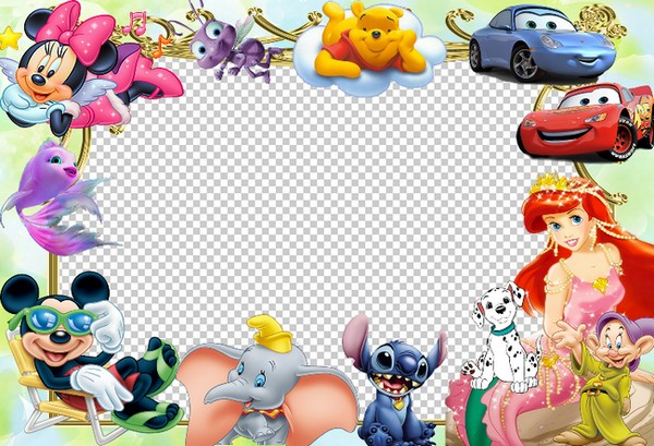 baby frame for photo disney cartoon characters - Disney Photo Frames