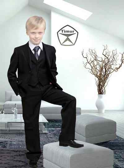 Boy in Business suit psd template download
