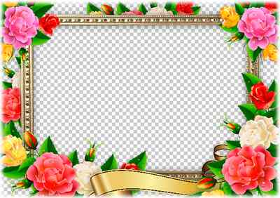 Greeting photo frame template ( format psd & png download )
