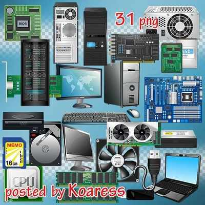 Computers clipart png and computer accessories clipart png ( free 31 PNG images download, transparent )