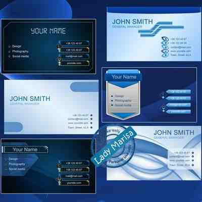 Free Business cards PSD templates ( 12 psd download )