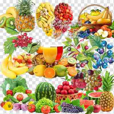 30 png Clipart fruits and berries download