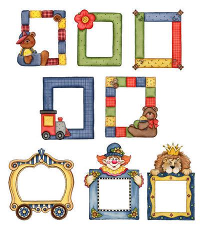 Kids frames for pictures - 8 frames for the album ( 8 Kids frames ...