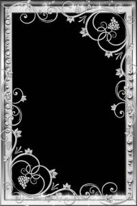 Frame for photo - Silver luxury