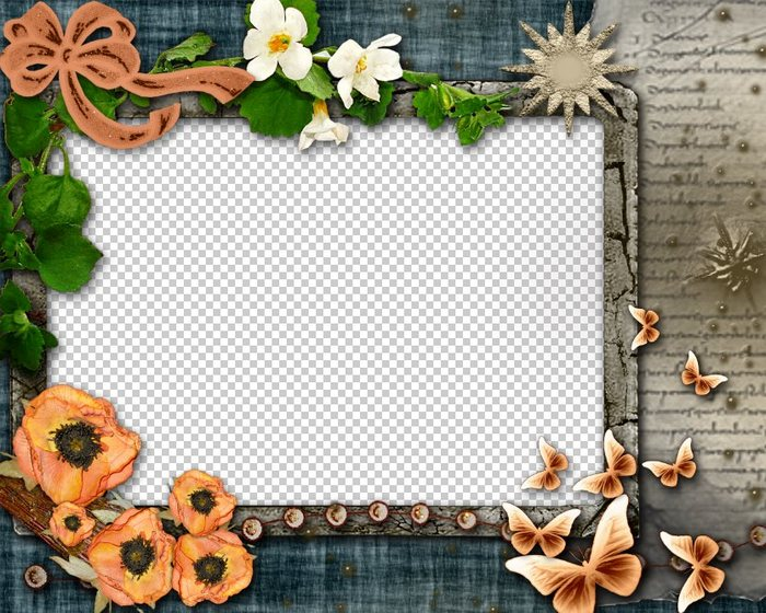 Photo Frame for Photoshop - Memories, PSD, PNG, download ...