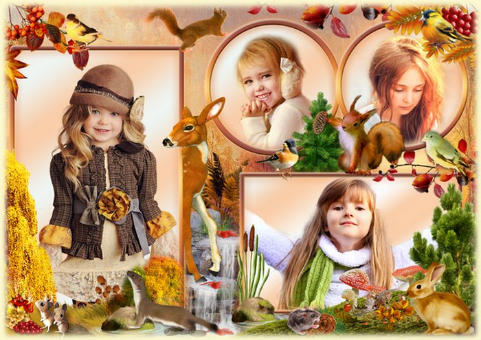 Free Photo frame - Autumn memories ( PSD, PNG ) free download ...