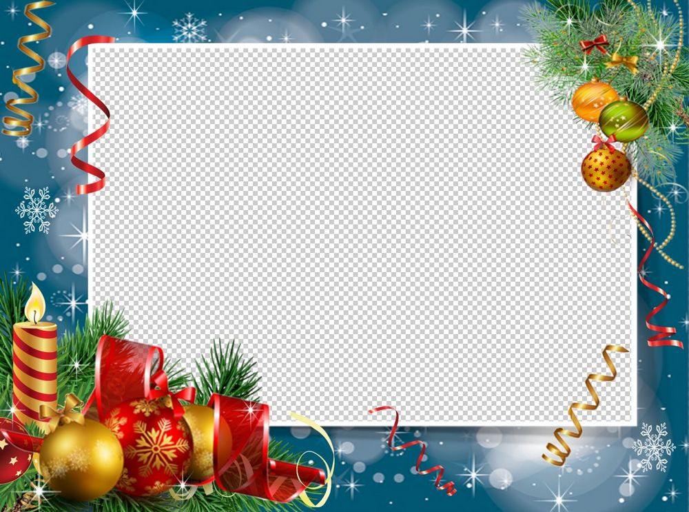 Christmas Photo Frame Png And Psd Free Download Marco Png