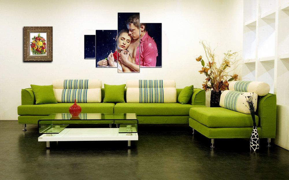 Mockup Interior And Paintings Free Psd File Home Design