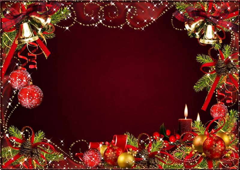 Новогодние открытки 2015 от фотошоп