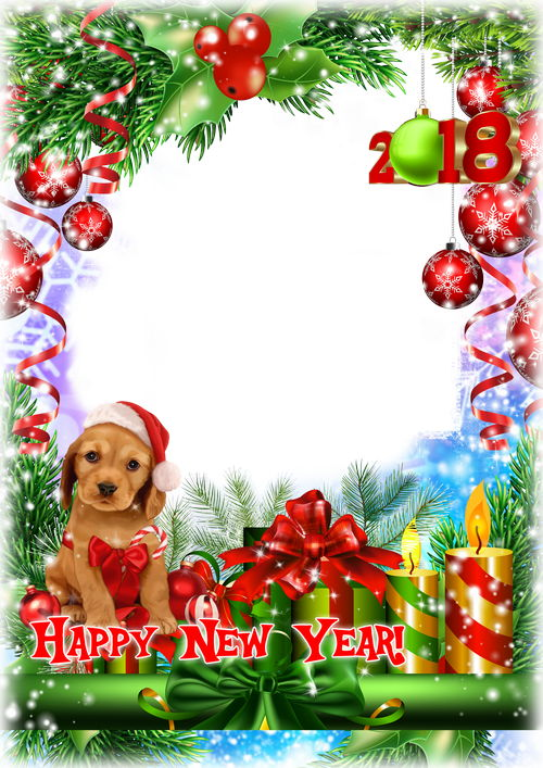 Free PSD New Year