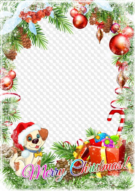 Merry Christmas Images Free.Christmas Photoshop Frame Psd Png Merry Christmas