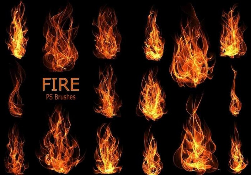 Создать огненную картинку