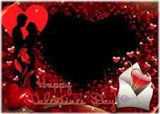 Valentine S Day Frames Photo Frames Png Psd Free Download