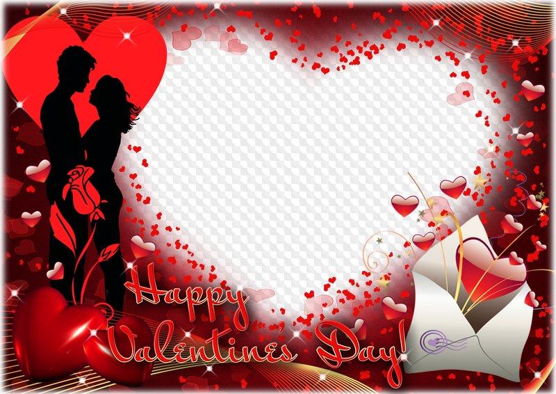 Photo Frame Happy Valentine