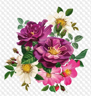 Dibujado Flores Png Imagenes Ramos Png Y Composiciones De Flores
