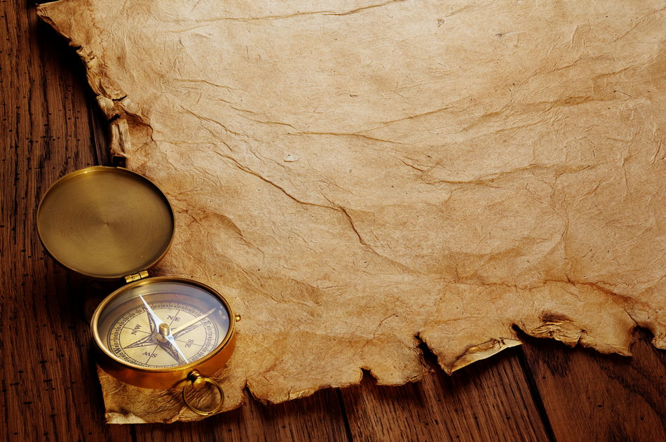 Compasses And Ancient Manuscripts Backgrounds For Photoshop