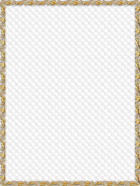 Fondos dorados con marco - Marcos transparentes ...