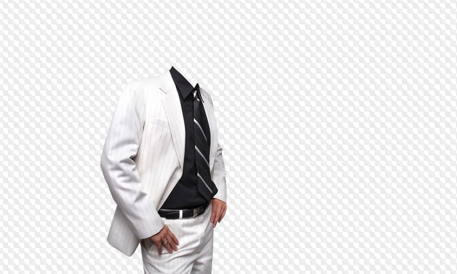 man white costume for photoshop psd file free template download