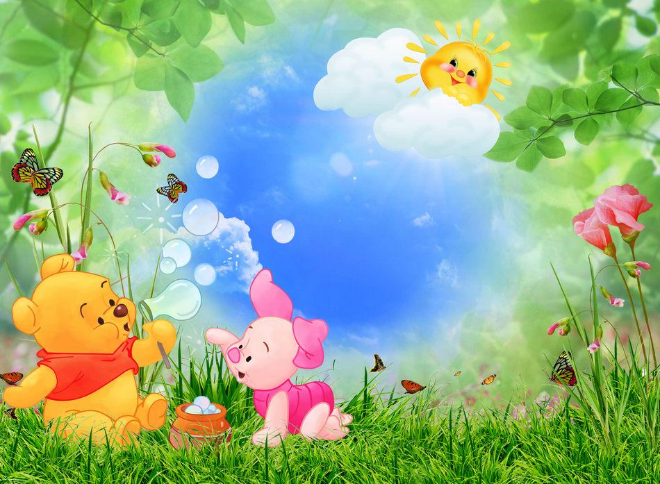 Фоновые картинки для фотошопа детские, поздравление