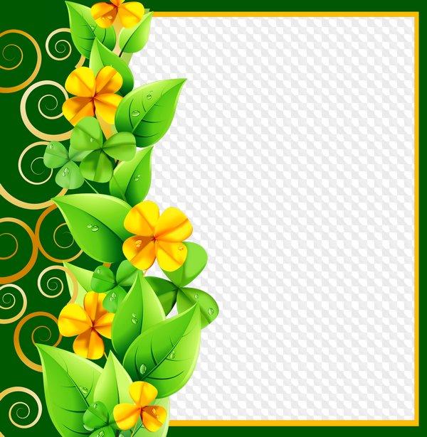 Marco de fotos - Encanto de primavera. Marco PNG transparente, PSD ...