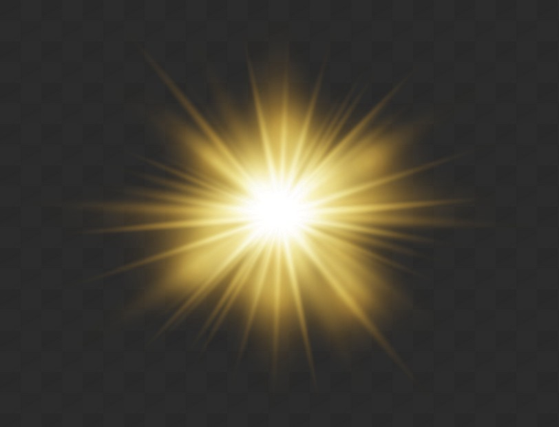 Destello De Luz Vector Png