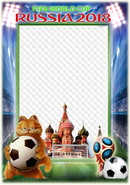 PSD, PNG, Photo frame, FIFA World Cup, Russia 2018. Transparent PNG ...