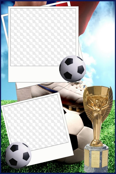 3 PNG, Photo frame, Football. Transparent PNG Frame, Layered PSD ...