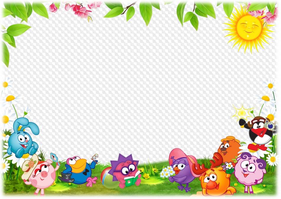 PSD, PNG, Marco de fotos para la foto de niños en grupo, jardín de ...