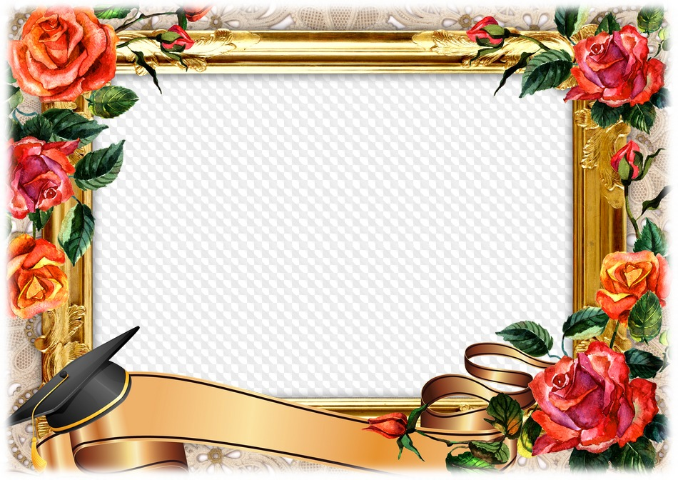 School graduation party, Photo frame. Transparent PNG Frame, PSD ...