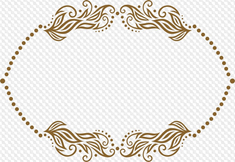 psd 22 png certificate border frame clipart with transparent background