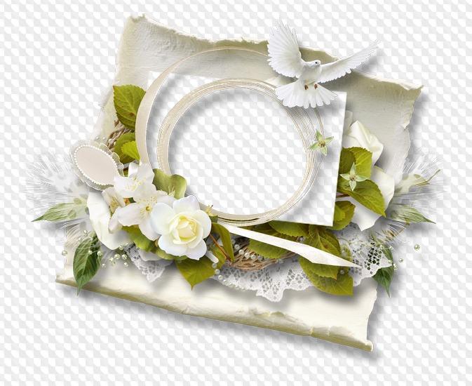 30 PNG, Marcos de boda, racimos, accesorios, imágenes con fondo ...
