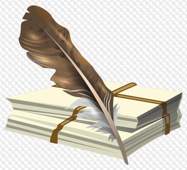 картинки книг и пера на прозрачном фоне наличии широкий