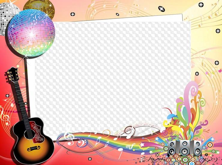 Открытка для фотошопа музыка, открытки днем
