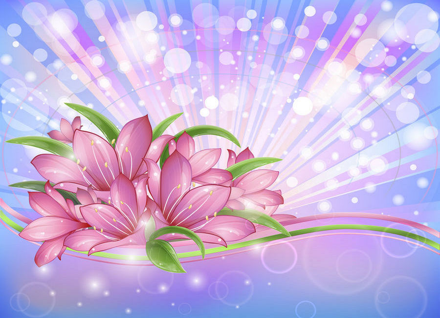 Blooming explosion, PSD, background  PSD background for