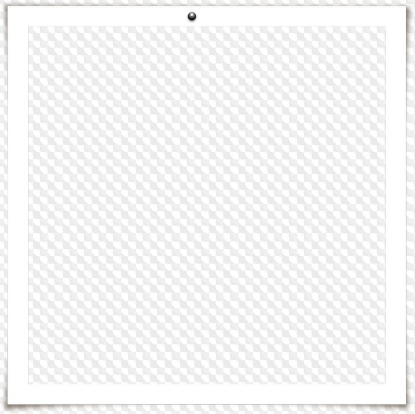 PNG, Three white square frames, straight and sloping