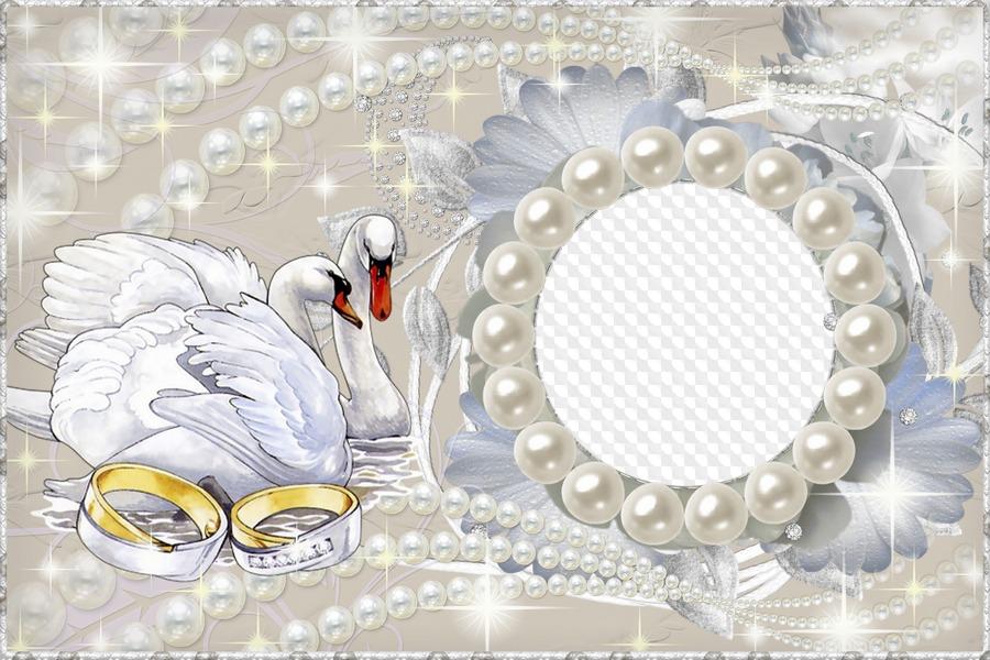 Цветы, шаблон открыток на жемчужную свадьбу