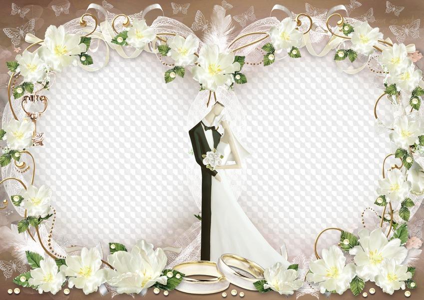 Свадебные картинки с рамками