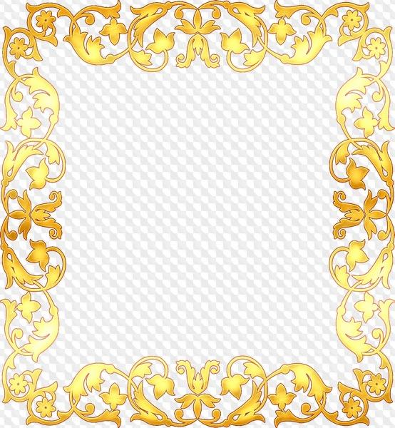 Descarga de marco dorado - gratis 15 cuadros png