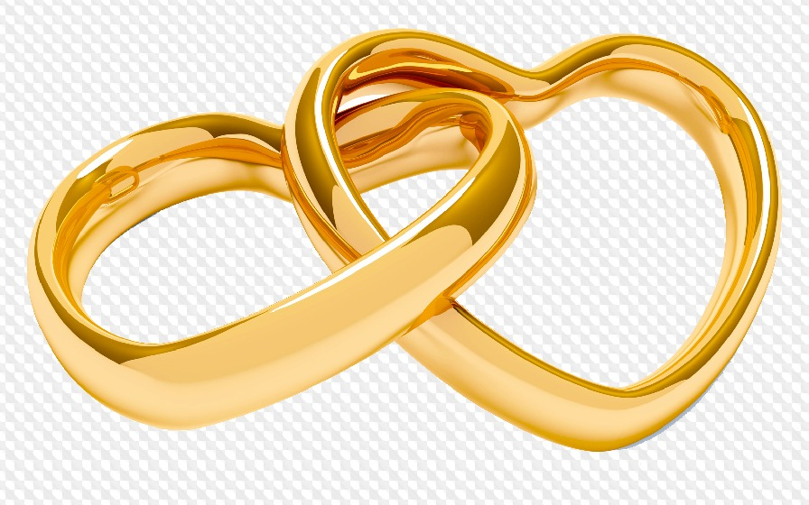 50 Png Wedding Rings On Transparent Background