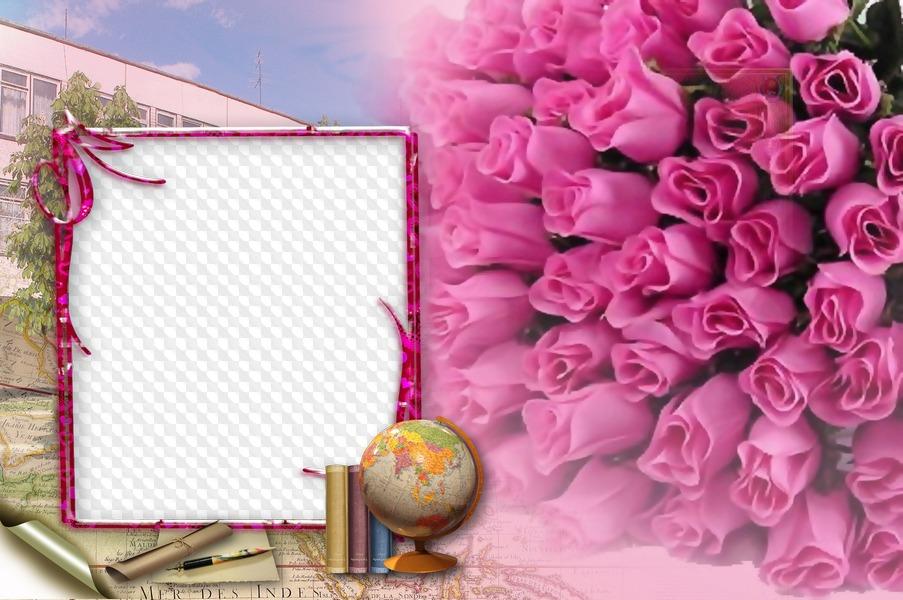 Открытка ко дню учителя фотошоп, сделать открытку