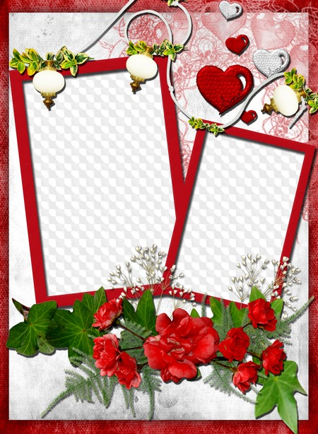 Frame for Photoshop - My heart. Transparent PNG Frame, PSD Layered ...