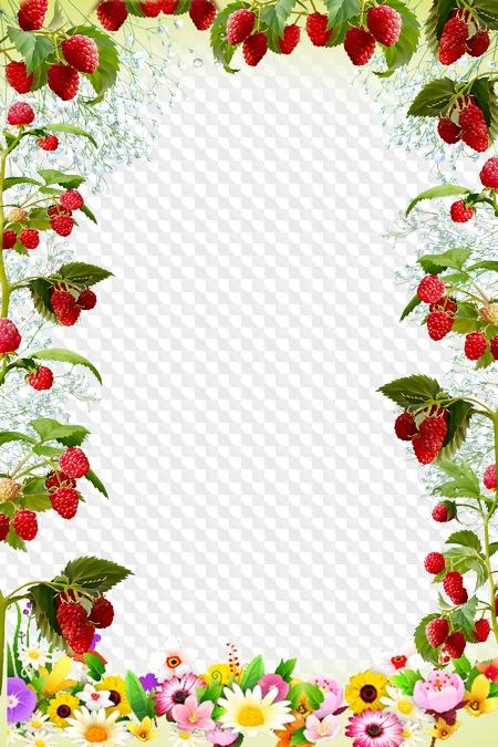 Картинки, картинка с ягодами и цветами для текста
