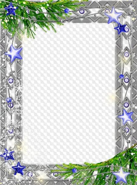 Photo Frame psd - Christmas Magic. Transparent PNG Frame, PSD ...