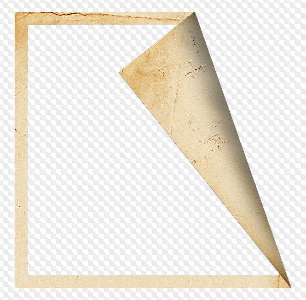 Картинки в уголках бумаги