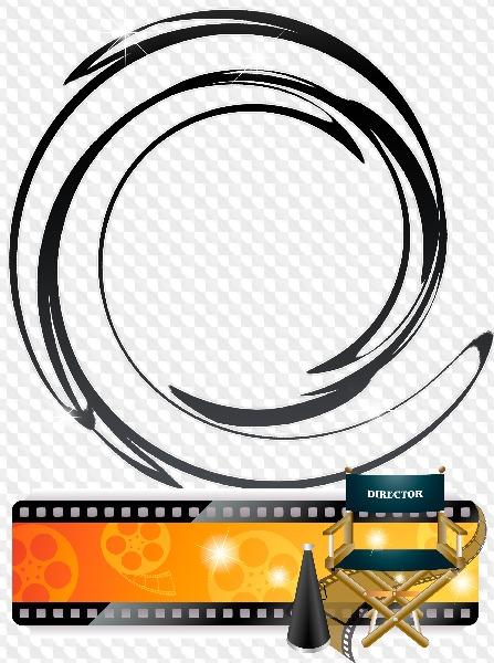 PSD, 6 PNG, Movie, photo frames. Transparent PNG Frame, PSD Layered ...
