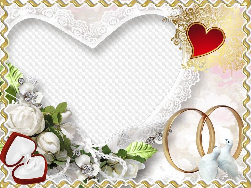 Happy moment Wedding Frame free download  Transparent PNG