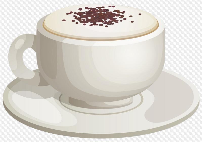 Марта мамы, картинка чашки кофе на прозрачном фоне