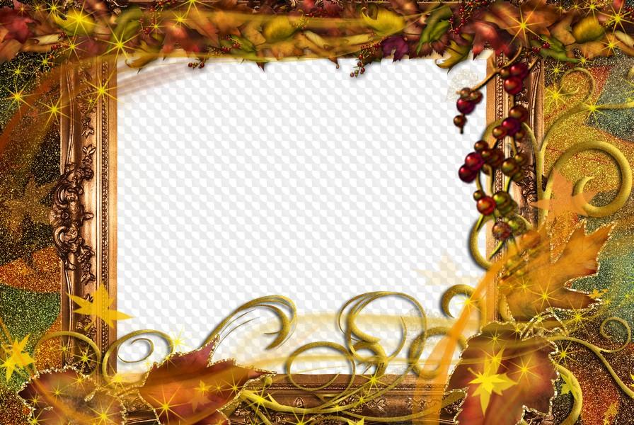 Картинки духовке, рамка под открытку осенняя